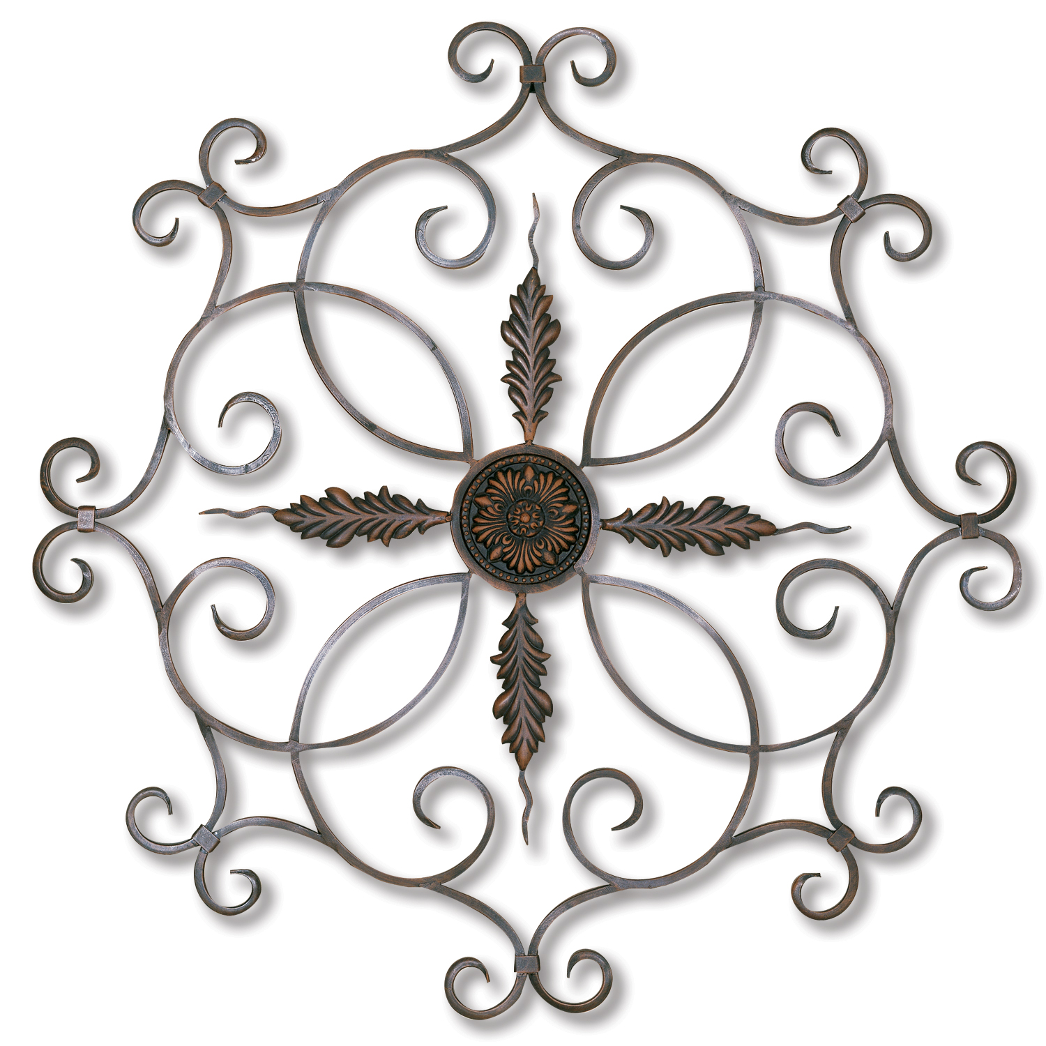 2180 Medallion Wall Decor Mario Contract Lighting