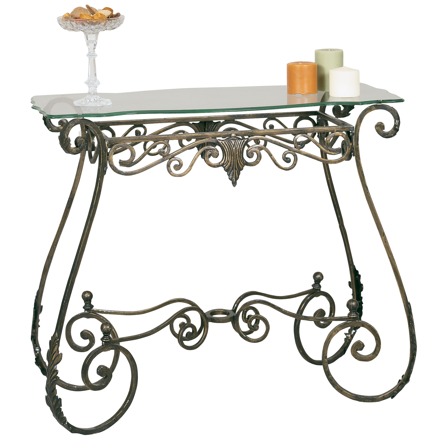 2564br metal console table mario contract lighting Metal console table