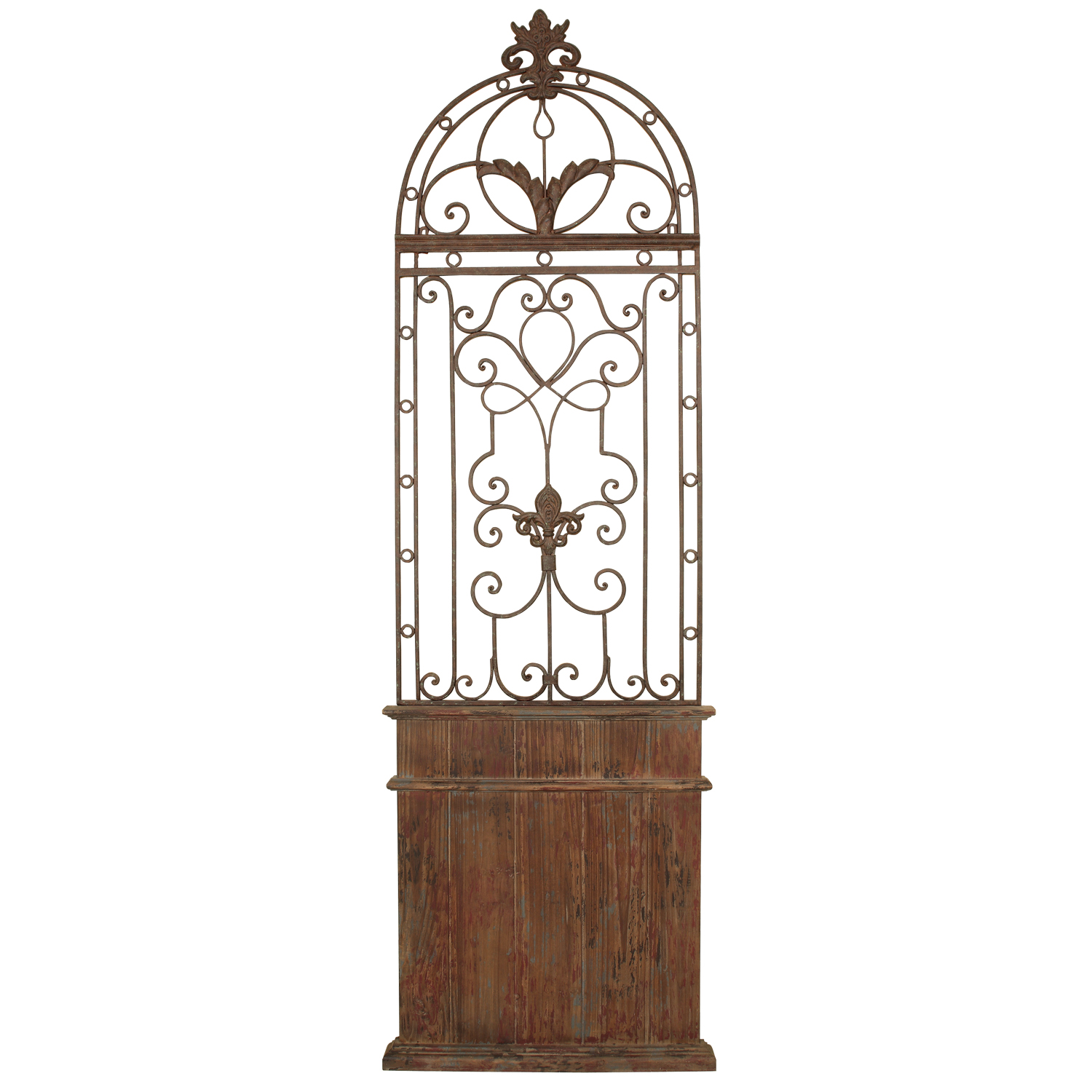 Wooden Gate Wall Decor : Wooden door wall d?cor mario contract lighting