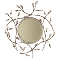 2118 | Round Jeweled Mirror