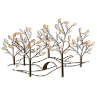 2158 | Tree lined street wall décor