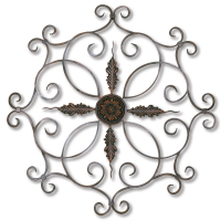 2180 | Medallion Wall Decor