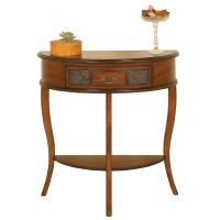 2336 | Half Round Console Table