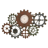 2446 | Interlocking Wall Clock
