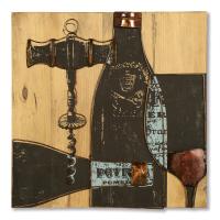 2450 | 3D Wine Wall Art