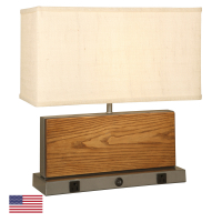 CT4950-OAK | Table Lamp<br><strong> Minimum – 12 Pieces</strong>