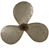 2629 | Propeller wall art