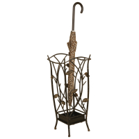 2131 | Metal Leaf Umbrella Stand