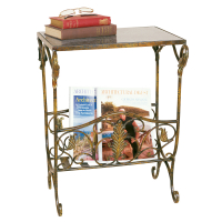 2407 | Magazine Rack Table