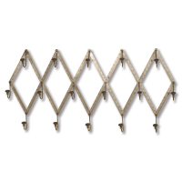 "2441 | Wall Mounted ""Ruler"" Coat Rack"