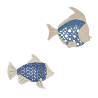 2636 | Seablue Fish Wall Art-Set of 2