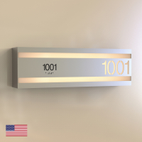 CS6155 | Illuminated Room Number<br><strong> Minimum – 25 Pieces</strong>
