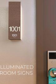Illuminated Room Signs