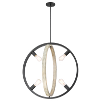 CC6571 | 4 Light Pendant<br><strong> Minimum – 6 Pieces</strong>