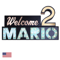 CW6634 | Customizable Welcome Sign<br><strong> Minimum – 1 Piece</strong>