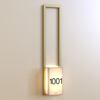 CS6638 | Illuminated Room Number<br><strong> Minimum – 25 Pieces</strong>