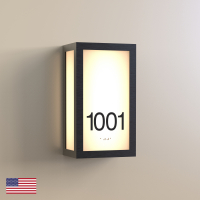 CS6640 | Illuminated Room Number<br><strong> Minimum – 25 Pieces</strong>