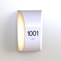 CS6654 | Illuminated Room Number<br><strong> Minimum – 25 Pieces</strong>