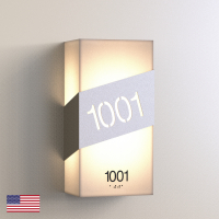 CS6656 | Illuminated Room Number<br><strong> Minimum – 25 Pieces</strong>