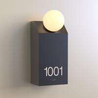 CS6657 | Illuminated Room Number<br><strong> Minimum – 25 Pieces</strong>