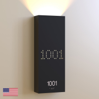 CS6658 | Illuminated Room Number<br><strong> Minimum – 25 Pieces</strong>