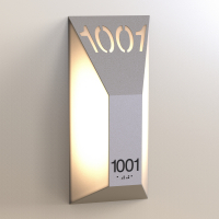 CS6660 | Illuminated Room Number<br><strong> Minimum – 25 Pieces</strong>