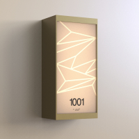 CS6663 | Illuminated Room Number<br><strong> Minimum – 25 Pieces</strong>