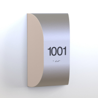 CS6654-NL | Non Illuminated Room Number<br><strong> Minimum – 25 Pieces</strong>