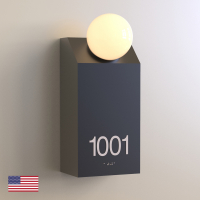 CS6656-NL   Non Illuminated Room Number<br><strong> Minimum – 25 Pieces</strong>