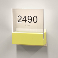 CS6936 | Illuminated Room Number<br><strong> Minimum – 25 Pieces</strong>