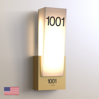 CS6954 | Illuminated Room Number<br><strong> Minimum – 25 Pieces</strong>