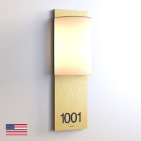 CS6967 | Illuminated Room Number<br><strong> Minimum – 25 Pieces</strong>