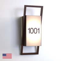 CS6970 | Illuminated Room Number<br><strong> Minimum – 25 Pieces</strong>