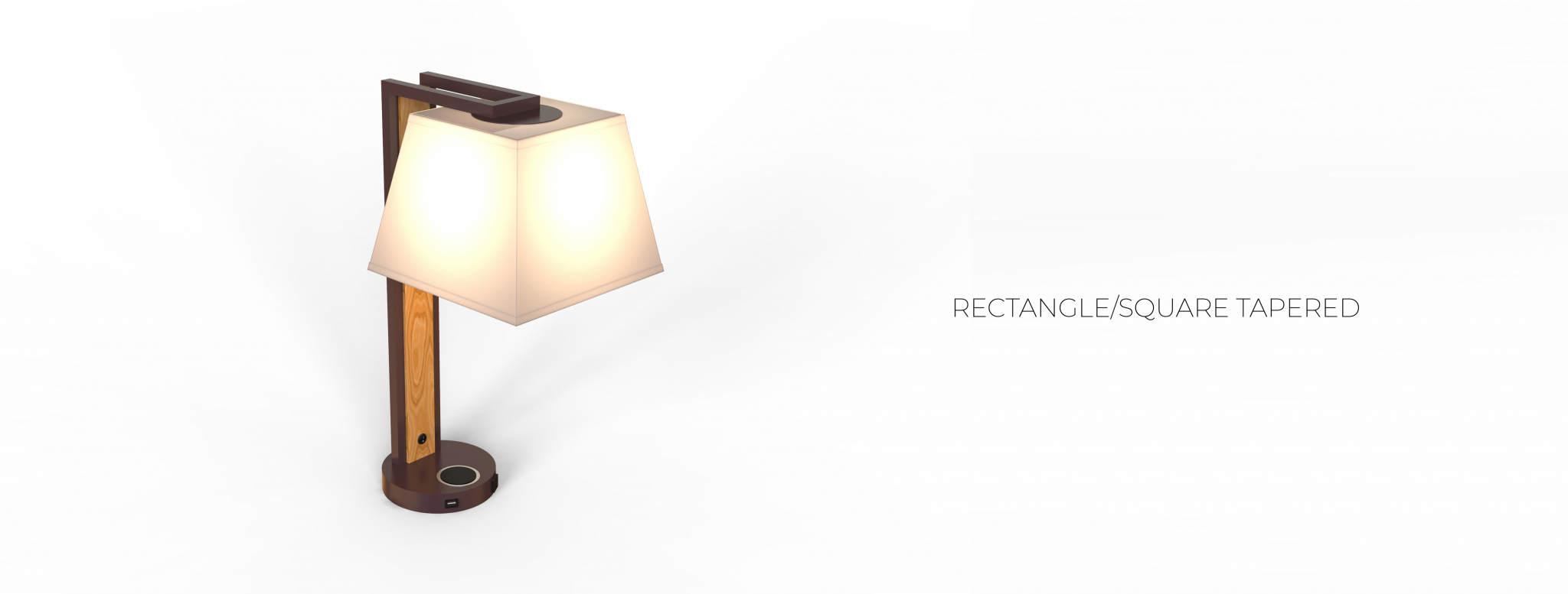 RECTANGLE-SQUARE TAPERED